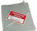 Disposal Bag with Ties and Labels