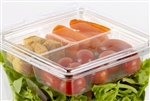 Clear 3-Compartment Insert - 5.6 in.
