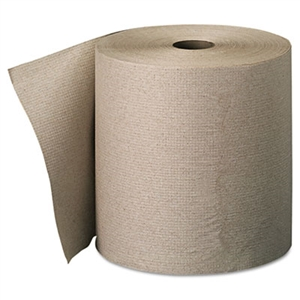 Nonperforated Paper Towel Rolls Brown - 7.87 in. x 800 ft.