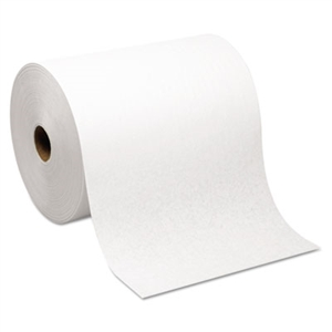Hardwound Roll White Paper Towel Nonperforated - 7.87 in. x 1000 ft.