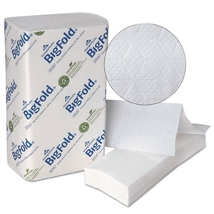 BigFold White Paper Towels - 10.2 in. x 10.8 in.