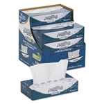 Angel Soft ps Ultra Facial Tissue 2-Ply White - 8.8 in. x 7.4 in.