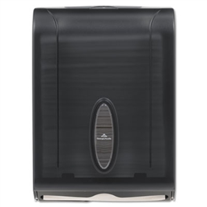 C-Fold and Multifold Towel Dispenser Translucent Smoke