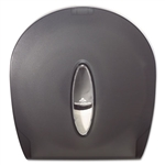 Jumbo Jr. Bathroom Tissue Translucent Smoke Dispenser - 10.6 in. x 0.39 in. x 11.3 in.