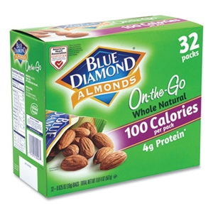 Whole Natural Almonds On-the-Go - 0.63 oz.