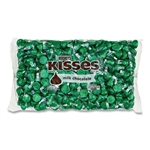 Kisses Milk Chocolate Green Wrappers - 66.7 oz.