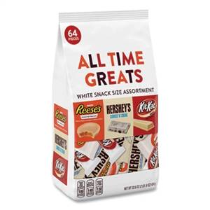All Time Greats White Variety Pack Assorted 64 Pieces - 32.6 Oz.