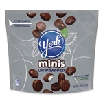 Unwrapped Minis Dark Chocolate Peppermint Patties 4 Bags - 7.6 Oz.