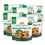Omega-3 Nut Mix 7 Pouches Per Pack - 1 oz.