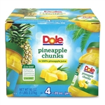 Pineapple Chunks in 100 Percent Juice - 20 oz.