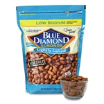 Low Sodium Lightly Salted Almonds - 10 oz.
