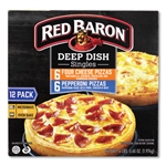 Four Cheese Pepperoni Deep Dish Pizza Singles Variety Pack - 5.5 oz.