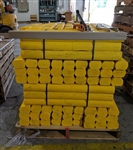 Lowes Timber Wood Treated 32 in. Long Yellow - 4 in. x 4 in.
