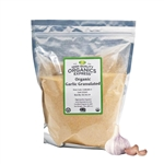 Organic Garlic Granules Resealable Bag - 5 lb.