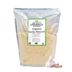 Organic Garlic Minced Resealable Bag - 5 lb.