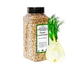 Organic Fennel Seed Whole - 14 oz.