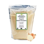 Organic Onion Granules Resealable Bag - 5 lb.
