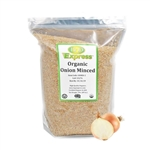 Organic Onion Minced Resealable Bag - 5 lb.