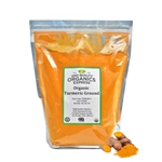 Organic Turmeric Powder Resealable Bag - 5 lb.