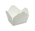 Eco-Box White Size 1 Food Box - 4 in. x 3 in. x 2.5 in.