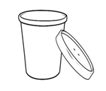Kraft Paper Soup Cup with Vented Lid Combo - 32 oz.