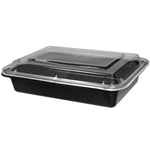 Microwave Medium Rectangle Black Combo - 5 in. x 4 in.