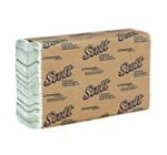 Scott C-Fold White 1 Ply 10.5 in. W x 13.25 in. L Folded Towels