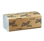 Scott Single-Fold White 1 Ply 10.5 in. W x 9.69 in. L Folded Towels