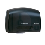 Coreless JRT Bath Tissue Dispenser Smoke - 14.25 in. x 9.75 in. x 6.0 in.