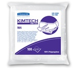 KimTech Pure CL4 Critical Task Wipers, 1 Ply, 11.5in.Wx12.5in.L, White, Low-Lint, Self-Dispensing