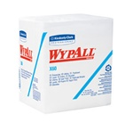 WypALL X60 Reinforced Teri Wipers, 4 Ply, 12.5in.Wx13in.L, White, Reinforced, 0.25-Fold