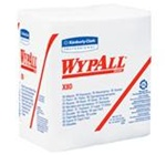 WypALL X80 White ShopPro 1 Ply 12.5 in. W x 13 in. L Shop Towels