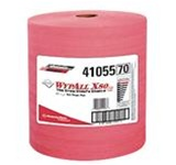WypALL X80 Red ShopPro Jumbo 1 Ply, 12.5 in. W x 13.4 in. L Shop Towels
