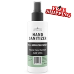 Hand Sanitizer  70% Alcohol – 4oz Spray (5 pack)