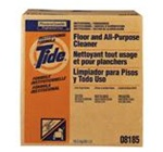 Tide Floor and All-Purpose Institutional Formula Cleaner, 36 lb Carton, White, Powder, Scent: Unscented