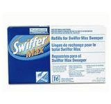 Swiffer Max Dusting System Cloths, 17in. W, White, Dry Cloth