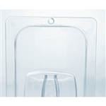 Clear Cold Food Pan Cover - 10.4 in. x 12.8 in.
