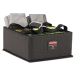 Executive Dark Gray Large Quick Cart Caddy - 14 in. x 11 in.