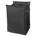 Executive Small Black Quick Cart Liner - 16 in.