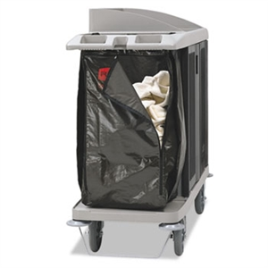 Zippered Vinyl Cleaning Cart Brown Bag for 6189, 6190, 6191 and 6192