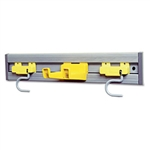 Closet Organizer and Tool Holder Kit Gray - 18 in.