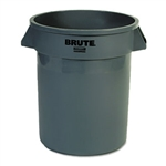 Round Brute Gray Container - 20 Gal.