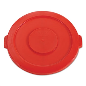 Round Red Lid for Brute 32 Gal. Container