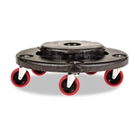 Brute Black Quiet Dolly - 6.6 in. x 18.2 in.
