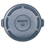 Brute Vented Round Gray Lid