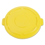 Brute Vented Round Yellow Lid