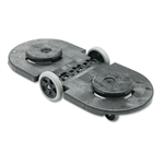 Brute Tandem Black Dolly - 45 in. x 20.2 in. x 8 in.