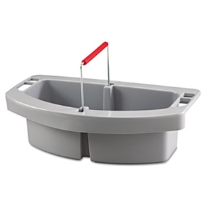 Gray Maid Caddy - 16 in. x 9 in. x 5 in.
