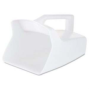 Bouncer White Utility Scoop - 64 oz.