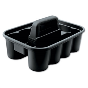Deluxe Carry Black Caddy - 15 in. x 10.9 in. x 7.4 in.